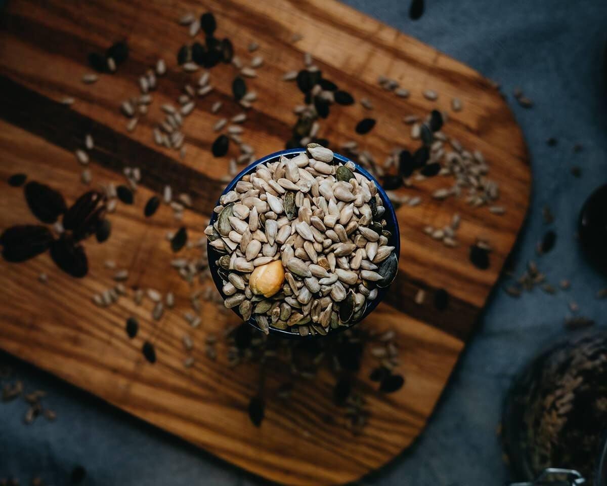 Graines et légumineuses en vrac bio
