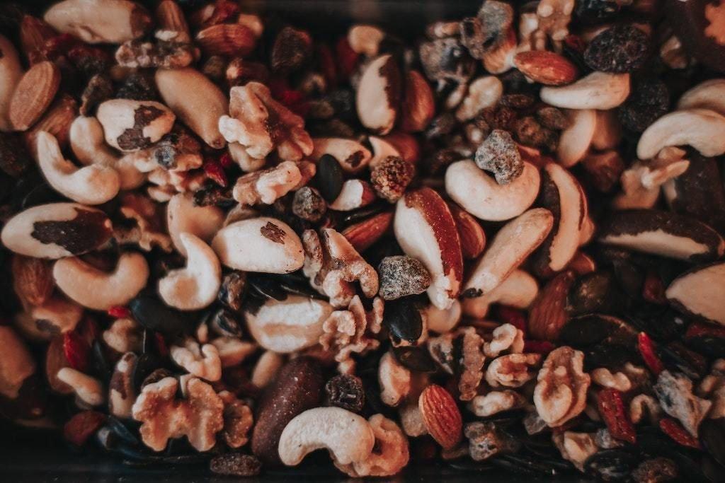 Mélanges de fruits secs Bio